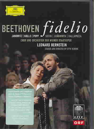 BEETHOVEN:FIDELIO BY VIENNA SYMPHONY ORCH (DVD)